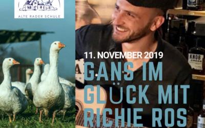 11. November 2019: Gans im Glück mit Richie Ros Martinsgans mit Livemusik