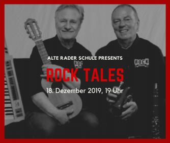18. Dezember 2019: ROCK TALES in drei Gängen